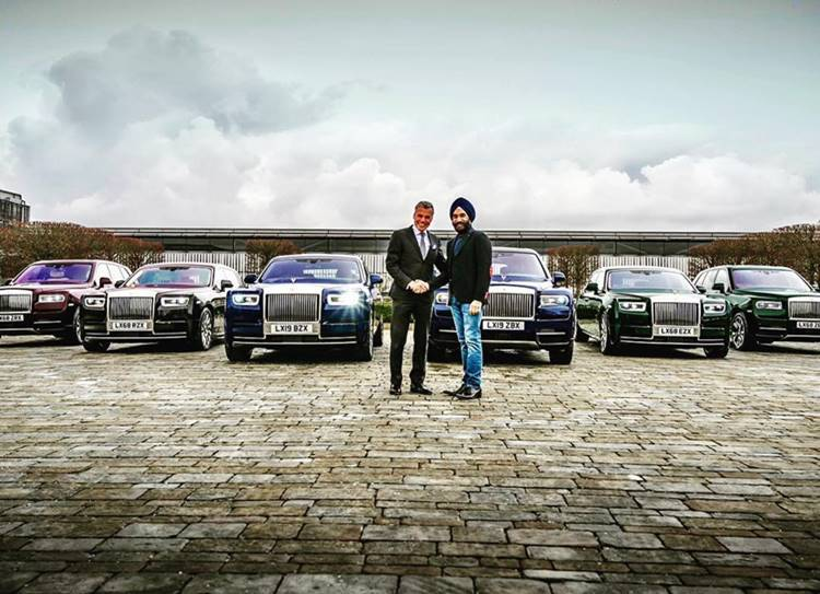 Reuben Singh's latest Rolls-Royce collection