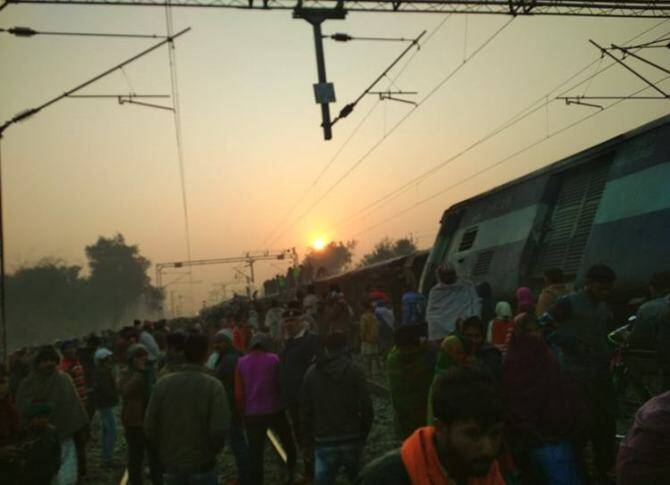 Bihar Seemanchal Express derails