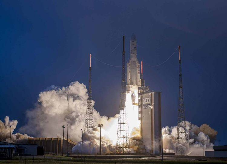 Isro's GSAT-31 launched from French Guiana