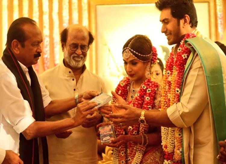Soundarya Rajinikanth wedding video - மகளின் கண்களில் இனியும் கண்ணீர் கூடாது! ஒரு பாசமுள்ள தந்தை நிகழ்த்திய ஆகச் சிறந்த கடமை!