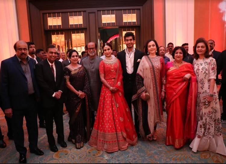 Soundarya Rajinikanth Vishagan Reception photos - சவுந்தர்யா ரஜினிகாந்த் - விசாகன் வரவேற்பு ஸ்பெஷல் புகைப்படங்கள்!