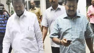 minister vijayabaskar father chinnathambi filed nomination for lok sabha election - மக்களவை தேர்தல்: அமைச்சர் விஜயபாஸ்கர் தந்தை விருப்ப மனுத் தாக்கல்