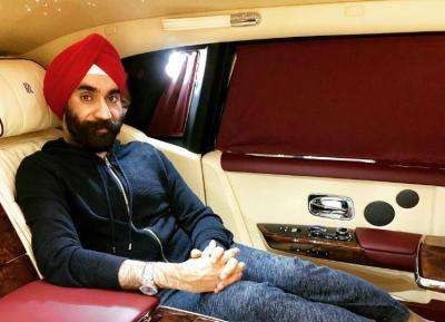 Reuben Singh's latest Rolls-Royce collection