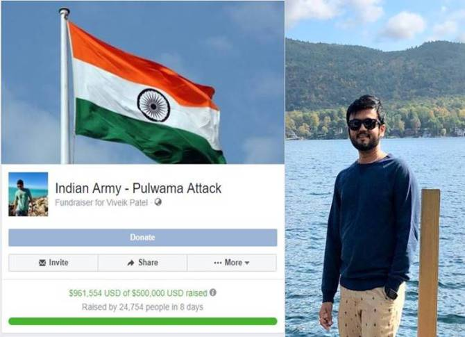 Pulwama attack aftermath, Viveik Patel