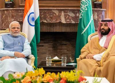 Saudi Crown Prince Mohammed bin Salman Visits India
