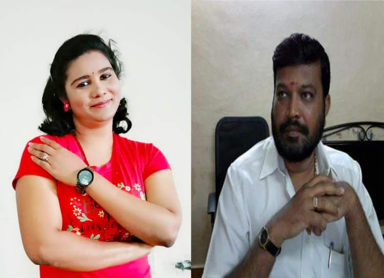 woman murder, husband arrested, குப்பை கிடங்கில்