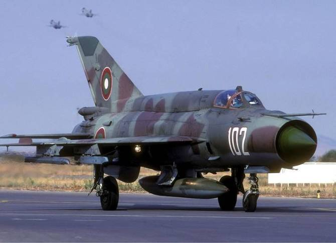 IAF mig21 fighter aircraft crashes