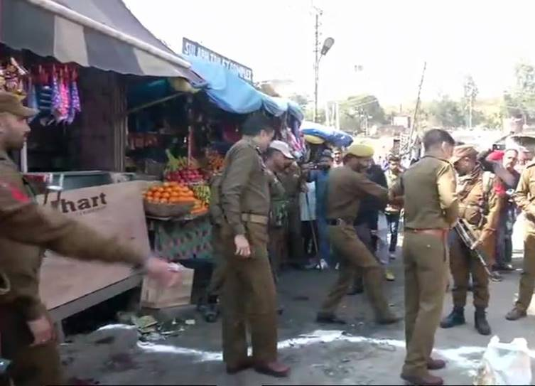 Grenade explosion at Jammu bus stand