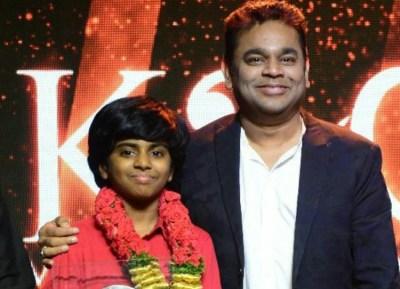 AR Rahman on Lydian Nadhaswaran