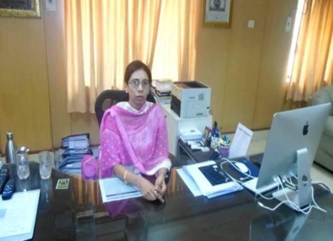 Pudukottai Collector Uma Maheshwari IAS