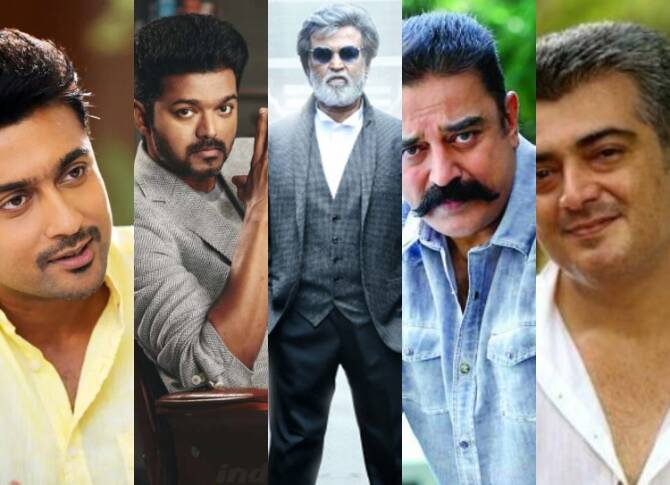 Top 10 Highest Paid actors of Kollywood