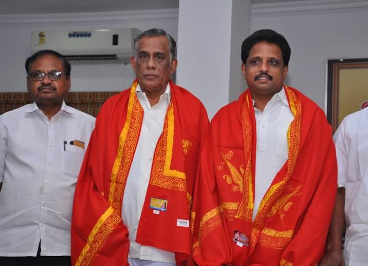 CPI(M) Candidates PR Natarajan and S.venkatesan