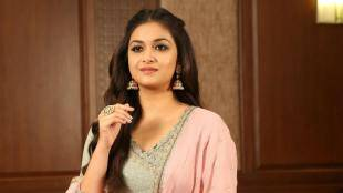 actress keerthy suresh, quarantine partner