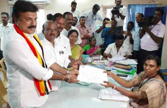 Kallakurichi DMDK candidate LK sudhish's movable assets value