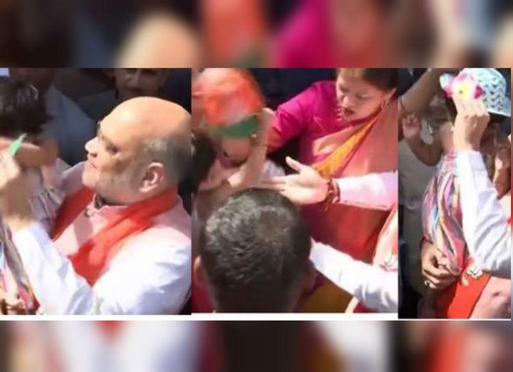 Amit Shah Grand Daughter Viral Video