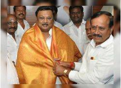 MK Azhagiri H raja Controversial Photo