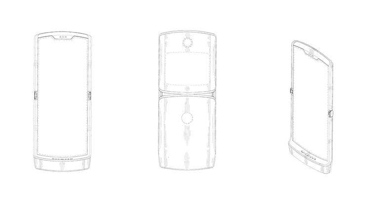 Motorola's foldable Razr secondary screen
