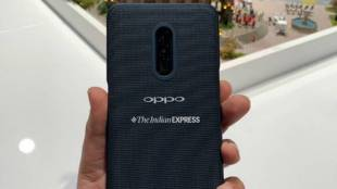Oppo Smartphone with Snapdragon 855