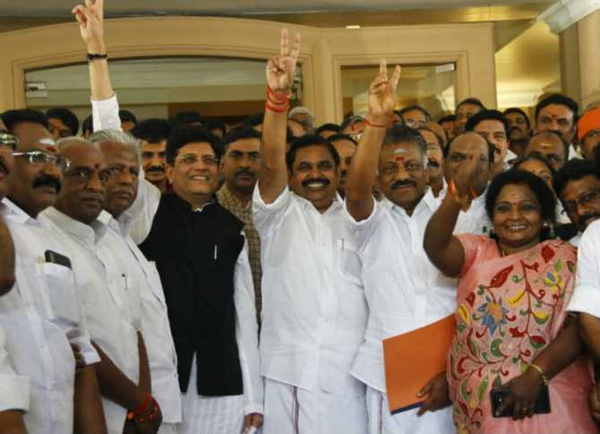 Tamilnadu lok sabha election results bjp pmk dmdk