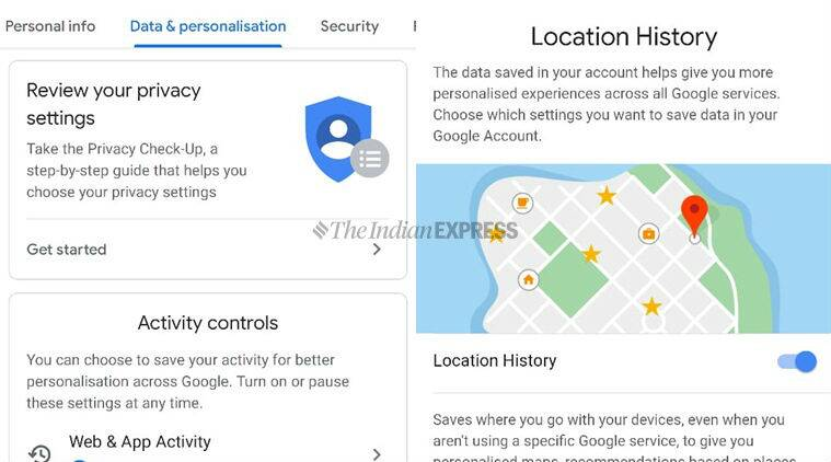 how to turn off location tracking on Android smartphones