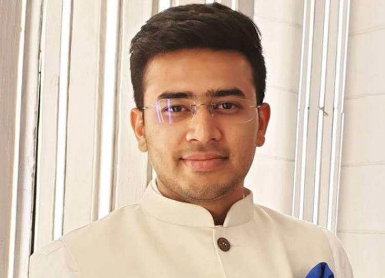 Bengaluru South BJP candidate Tejasvi Surya