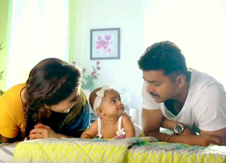 vijay theri baby viral photo, தெறி