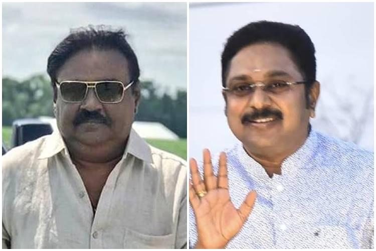 TTV Dinakaran, Vijayakanth Kootani, Captain Vijayakanth, விஜயகாந்த், டிடிவி தினகரன்