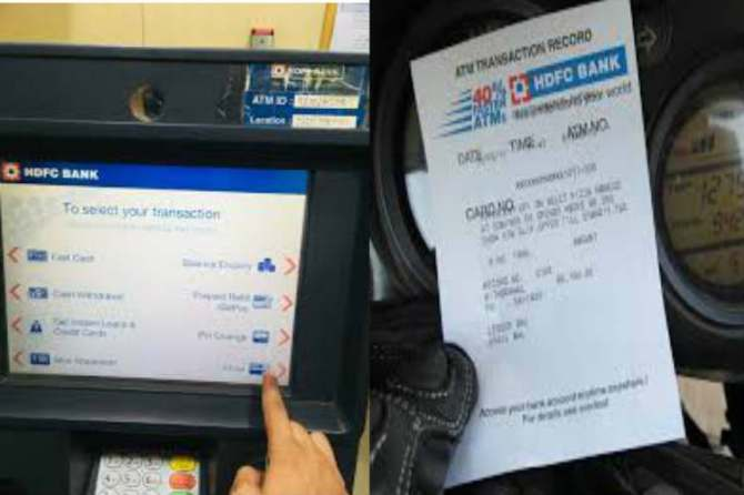 state bank of india atm charges