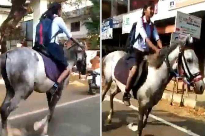 Kerala girl viral video