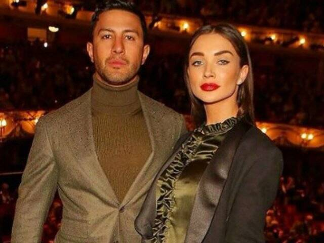 Amy Jackson With Her Fiance George Panayiotou