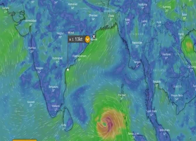 Tamilnadu: Chennai, Cyclone Fani, Cyclone Foni