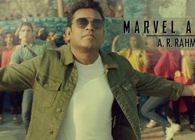 AR Rahman's Marvel Anthem