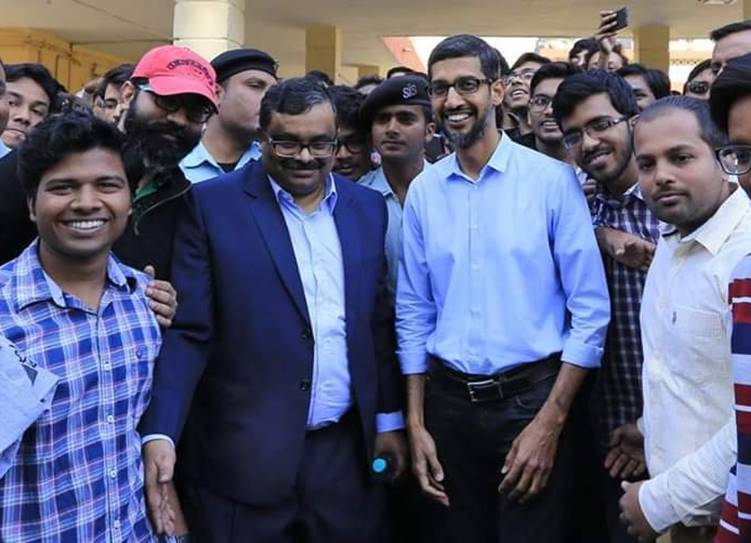 Election 2019 Google CEO Sunder Pichai