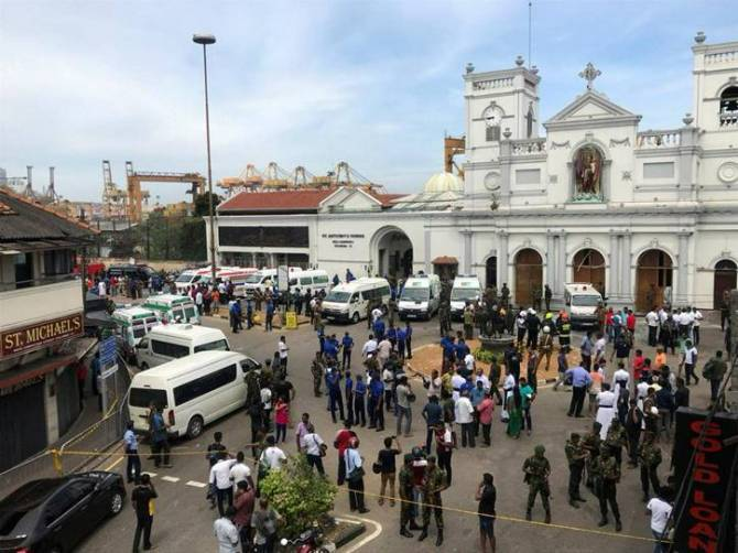 Srilanka Church Bomb Blast, Sri Lanka Easter mass murder