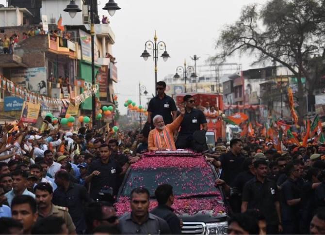 PM Narendra Modi Files Nomination Today Varanasi