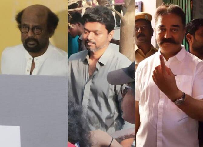Election 2019 - Tamil Celebrities