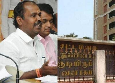 IT Raid at MLA's Hostel - RB Udhaya Kumar