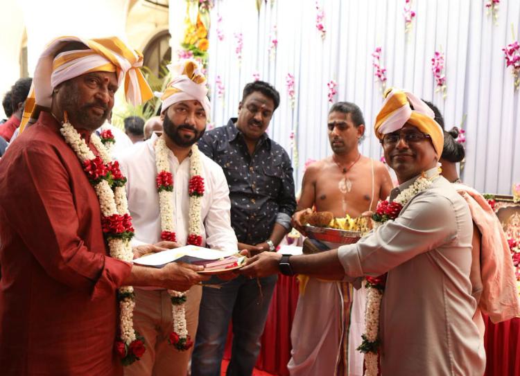 Rajinikanth's Dharbar Movie Pooja