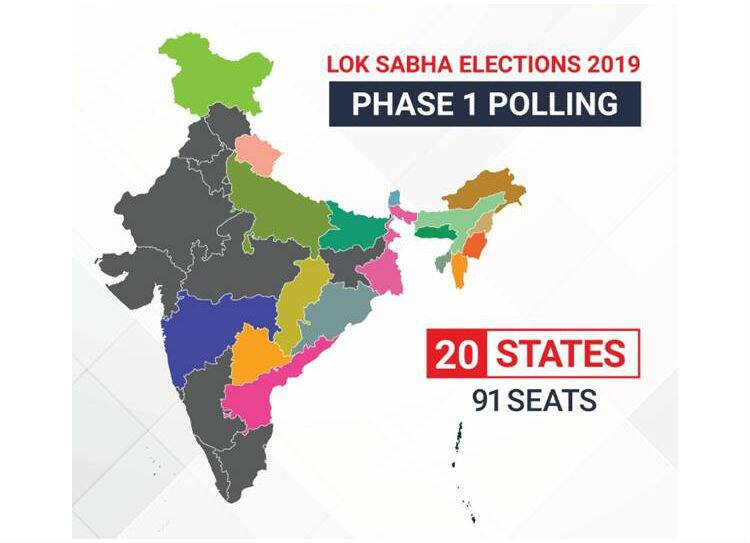 General Election 2019 1st phase polling starts tomorrow