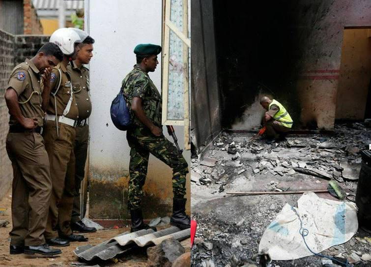 Sri Lanka Bomb Blasts NIA investigation