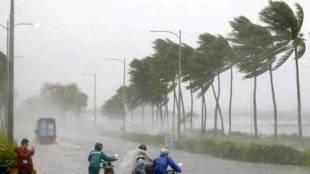 Cyclone Vayu at Gujarat