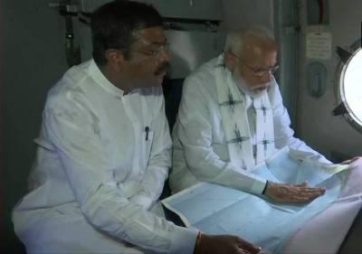 PM Narendra Modi Visits Cyclone Fani Affected Area