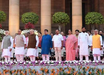 Narendra Modi New Cabinet Ministers List