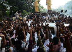 Mk Stalin at arivalayam