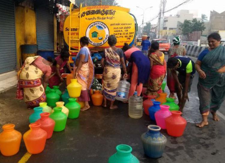 Chennai News Chennai water Scarcity