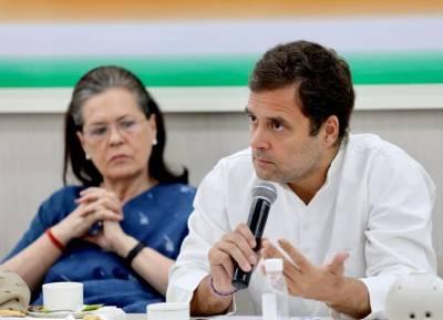 CWC Rahul Gandhi Blames Senior Leaders