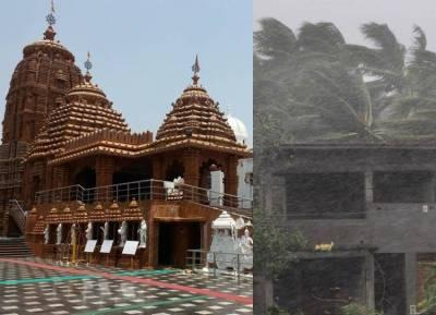 Fani Cyclone Affects Puri Jagannath temple