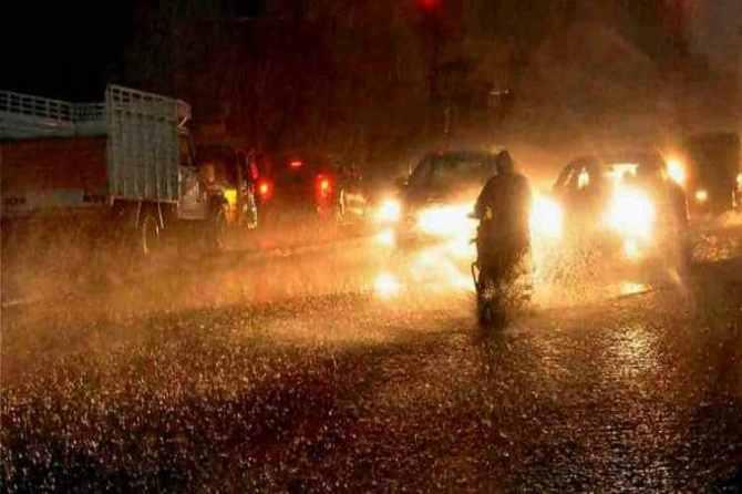 Chennai weather today interior Tamil Nadu receives heavy rainfall alert,