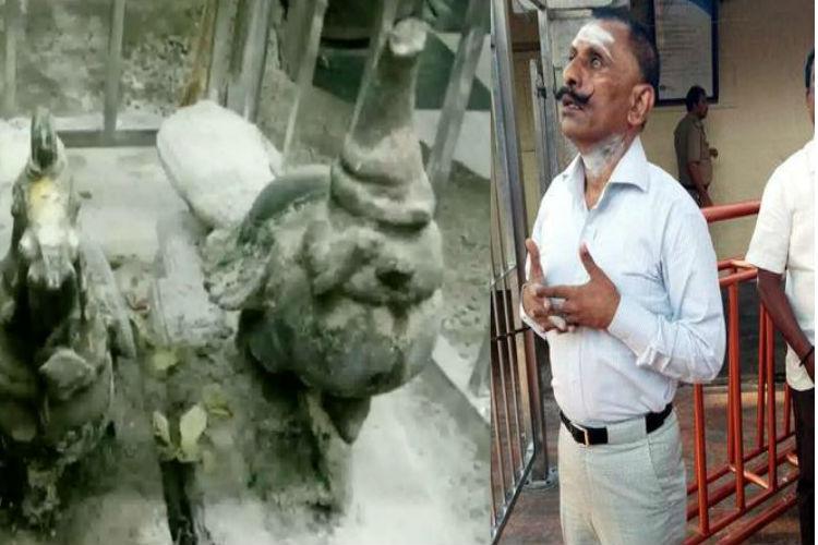 திருச்செந்தூர் மயில் சிலை