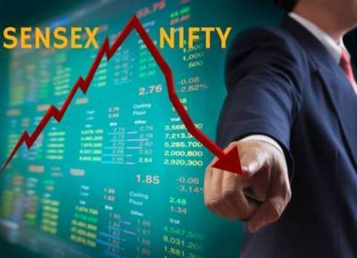Nifty on its worst run in 8 years, sensex crashes 372 points